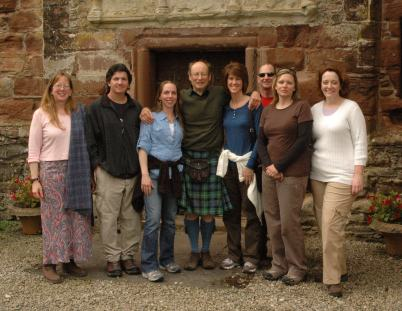 A castle visit to Leod (aka Castle Leoch) with Chief John MacKenzie